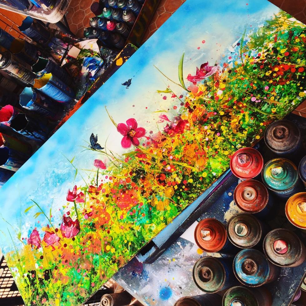 porfiriojimenez me spray paint artist