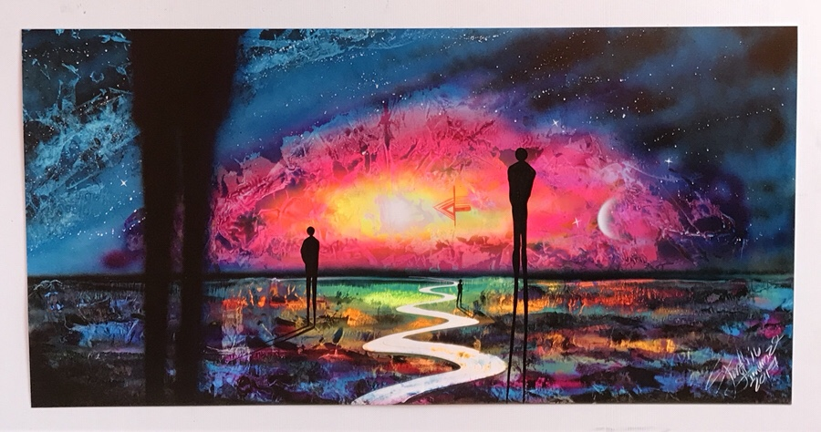 Dragon Ball Spray Paint Art